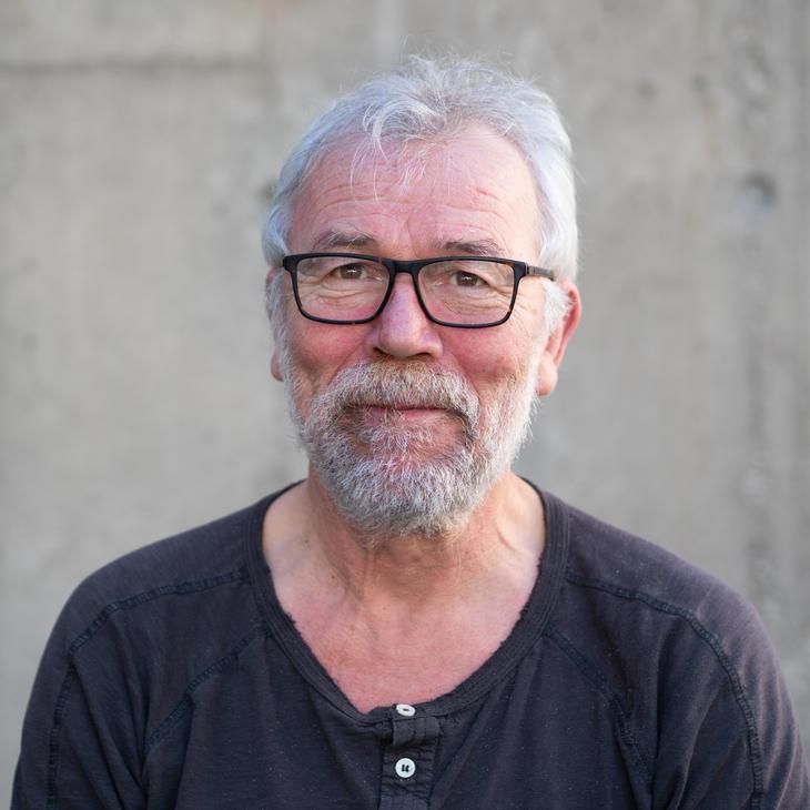 Områdeansvarlig og maskinsjef, Svein Roger Mandal.