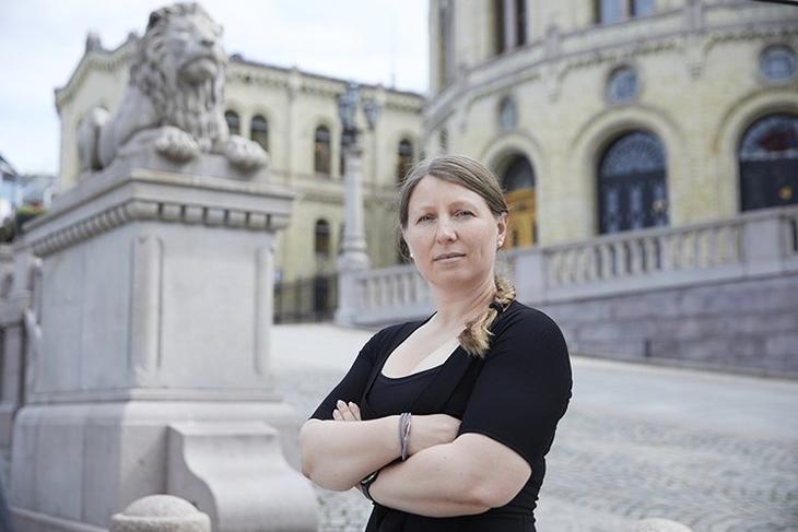 Forhandlingsleder i Unio Stat, Guro Elisabeth Lind, ønsket en forhandlingsløsning, men slik gikk det ikke. - Det er svært krevende å forhandle med en motpart som viser så liten vilje til å finne løsninger, sier hun. Foto: Forskerforbundet