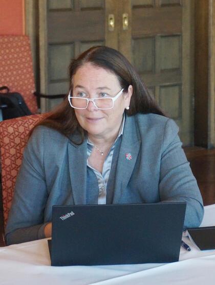 Forhandlingsleder Hege-Merethe Bengtsson